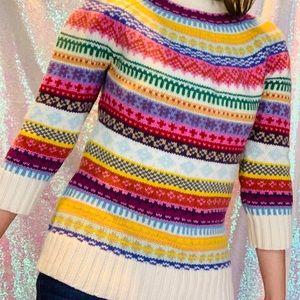 Vintage Gap fair isle sweater